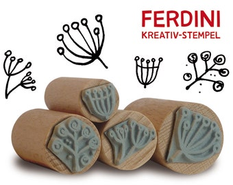 Thistles and umbels · Stamps by Ferdini