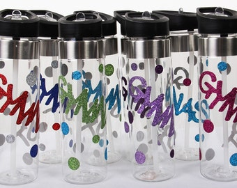 GYMNAST Water Bottle - Variety Of Colors