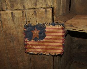 Primitive Amercana Flag