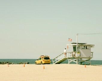 California Beach Photography, Ocean Photography, Landscape, Beach Decor, Summer, Los Angeles, Pacific Coast, Fine Art Print, Wall Art
