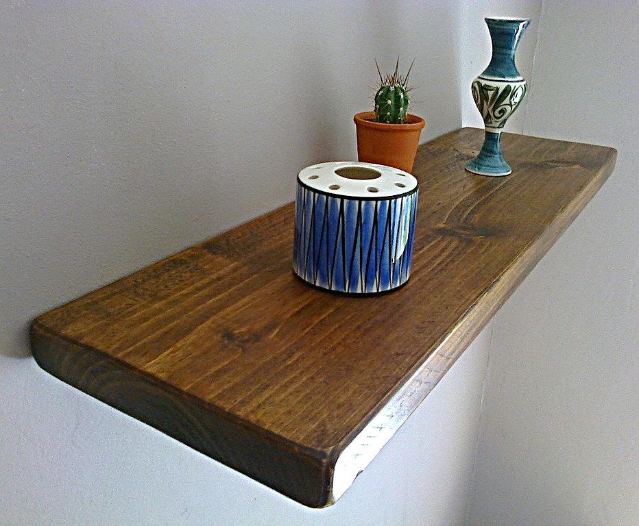 Floating Shelves, Wooden Shelving, Wall Shelf - Royal Oak ...