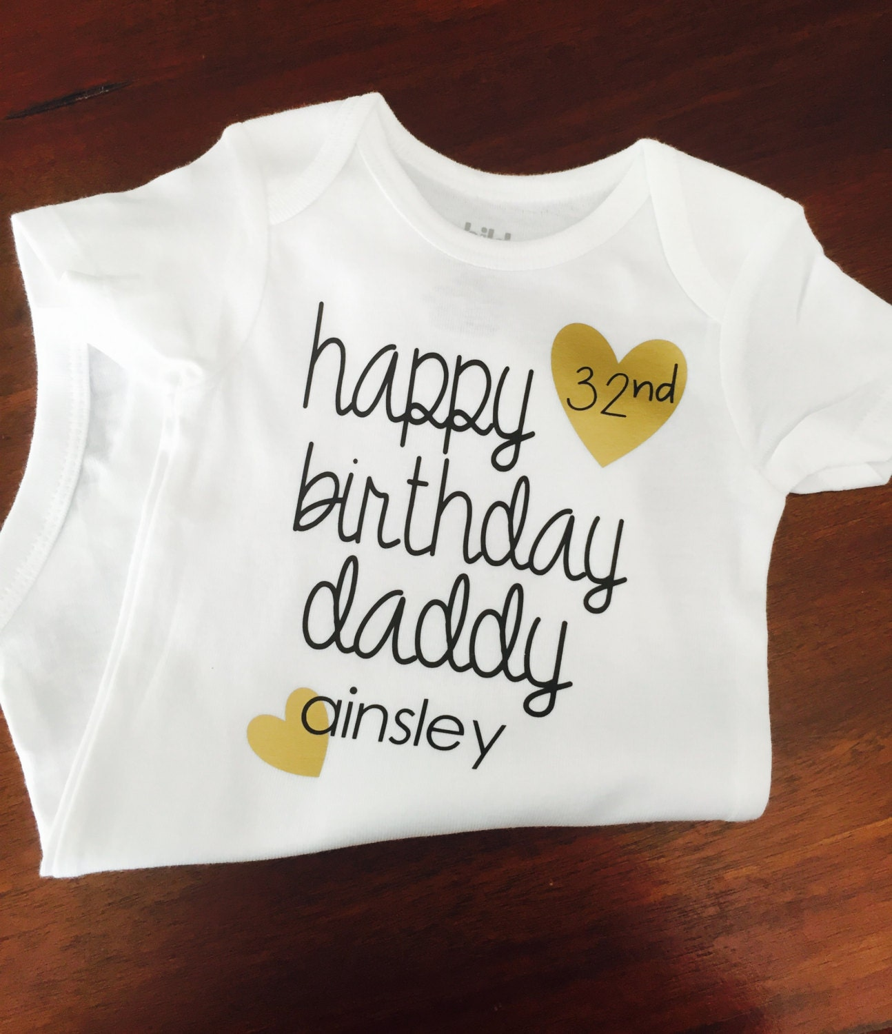 Happy Birthday Daddy Momma Mamas Baby Shirt