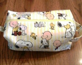 Snoopy and Charlie Brown - Box Bag
