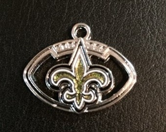 New Orleans Saints Football Charm