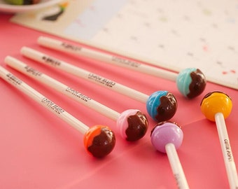 Chocolate Candy Ink Pen/Kawaii Pen/Catton pen TZ629