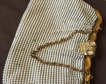 Vintage Whiting and Davis Mesh Purse Bag