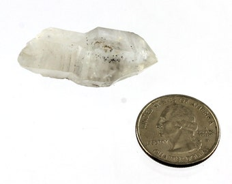 Tibetan Quartz Crystal Scepter with Inclusions- Lot 4