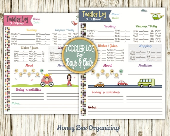 child care daily schedule template