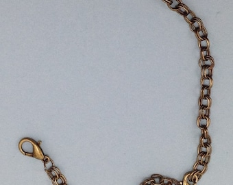 405a Antique brass chain