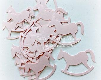 Rocking Horse Die Cuts, Rocking Horse Confetti