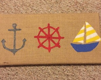 Nautical painting