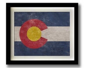 Colorado Flag Print - 11x14""