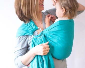 Baby Sling, Newborn Baby Carrier, Ring Sling-Turk and Caicos