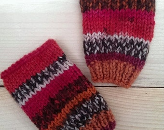 Fingerless gloves onesize