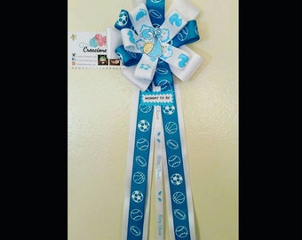 Baby showers corsage - baby showers - it's a boy - mommy to be