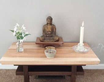 Meditation Altar Table Etsy