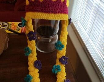 Rapunzel Inspired Crochet Hat
