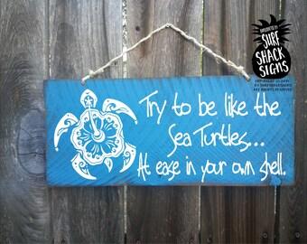 sea turtle, sea turtle sign, sea turtle decor, sea turtle wall art, sea turtle beach decor, beach house decor, turtle art, 143