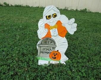 Halloween Ghost Yard Sign