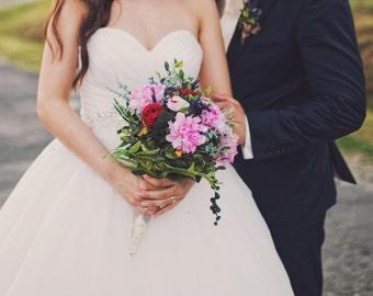 Bride Bouquet - Tree peony
