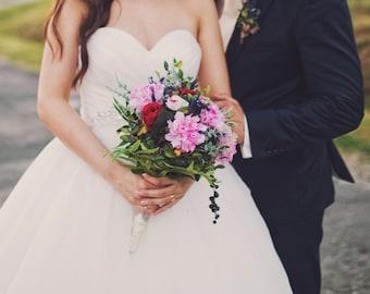 Bridal Bouquet - Tree peony