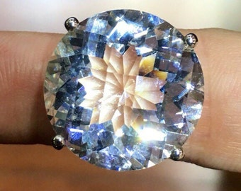 Rock crystal sterling silver 925 item 532