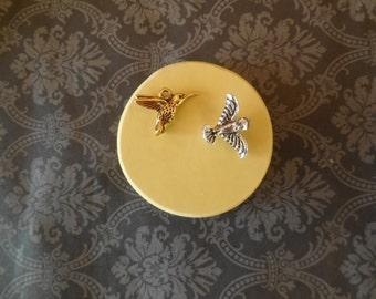 Hummingbird Silicone Mold Earrings, Silicone Putty, Silicone Jewelry, Hummingbird jewelry, Jewellry, Bird Jewelry