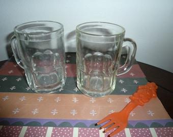 Vintage  root beer float mugs