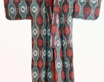 Vintage Komon Kimono