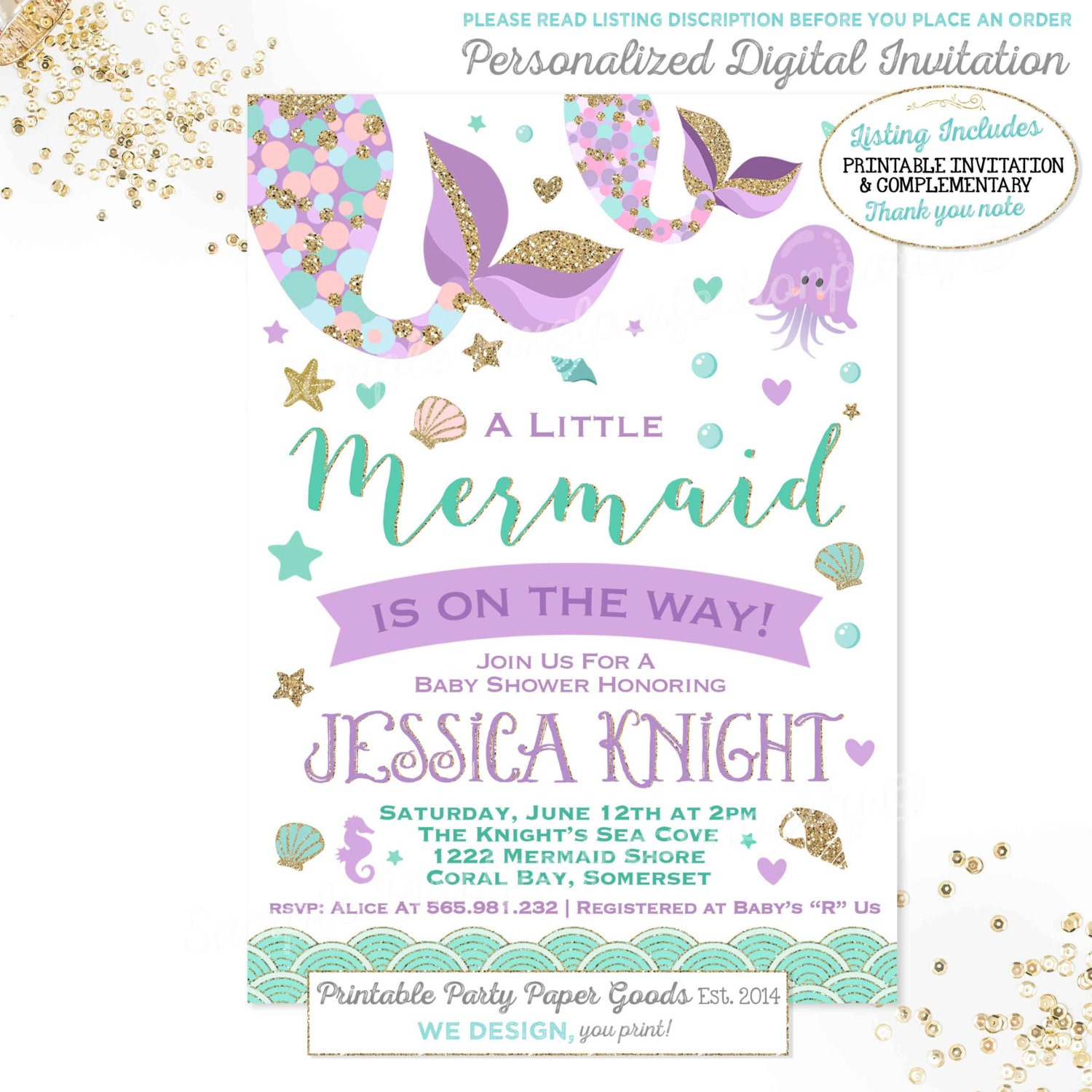 Whimsical Invitations is awesome invitation template
