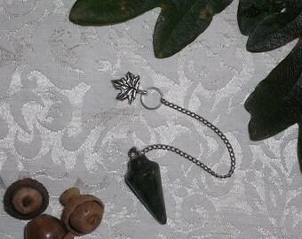 Moss Agate Pendulum for Divination Magic