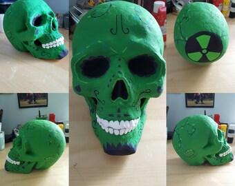 Personalised Skull Ornament/Centerpiece/Oddity