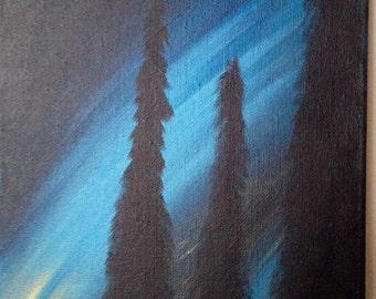 The Night Sky painting