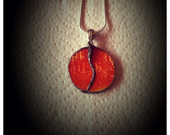 Handmade Hand cut Stained Glass Jewelry