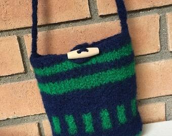 Wool Felted Bag