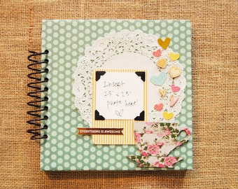 8x8 Mni Scrapbook/ Imaginarium/ Brag Book/ Photo Album