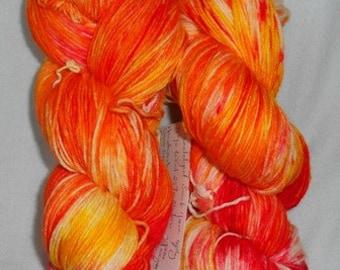 CC16/338 Handdyed sock Yarn 4ply