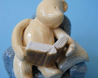 Ceramic teddy