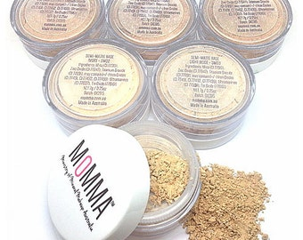 MOMMA Semi-Matte Mineral Foundation Vegan Chemical Free 7g