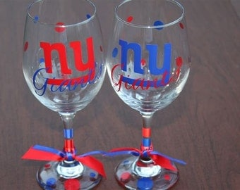 NY Giants Glassware