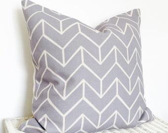 Grey Geometric cushion, grey geo cushion cover, scandi grey cushion, chevron cushion, grey chevron cushion, minimal cushion