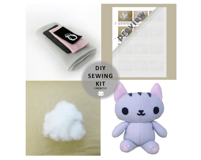 Kitty Cat Sewing Kit