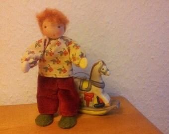 "Dollhouse Miniature Doll ""Jacob"""