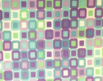 Paintbrush Studios PICCADILLY BLOCKS (Multi) - 100% Cotton Premium Fabric - sold by 1/2 yard