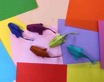 5 Small Origami Koi Fish