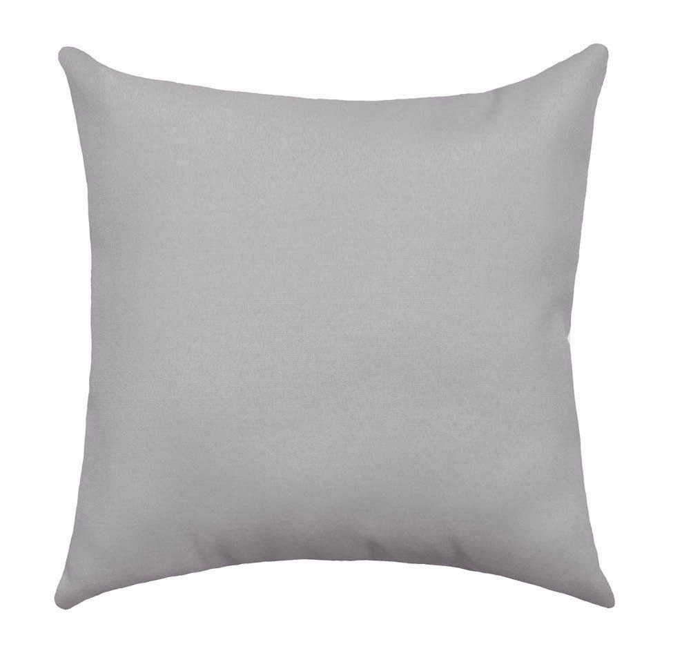 Grey Pillow Cover Cushion Cover Solid Grey Pillow Sham