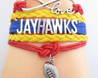 Jayhawks Bracelet