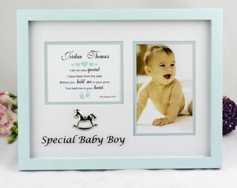 Special Baby Boy/Girl Personalised Frame