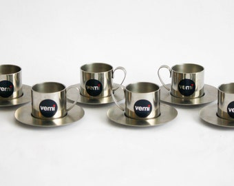 Vemi Vintage Set of 6 Coffee Cups
