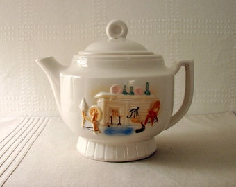 Porcelier 5-Cup Teapot